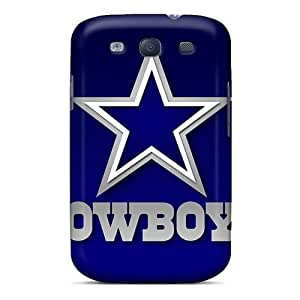 KevinCormack Samsung Galaxy S3 Best Hard Phone Case Customized Colorful Dallas Cowboys Image [iSK4021RQfy]