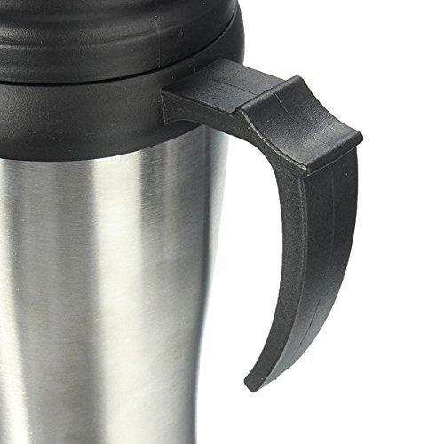Alamor Termo De Acero Inoxidable Abs Taza De Viaje Coche Caf/é Vaso Taza De T/é