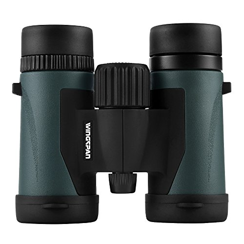 (Wingspan Optics Trailbreaker 8X32 Compact Binoculars for Bird Watching. Durable and Lightweight for The Nature Lover on The Go. for Bird Watching, Watching Sports Games and Concerts. Waterproof.)