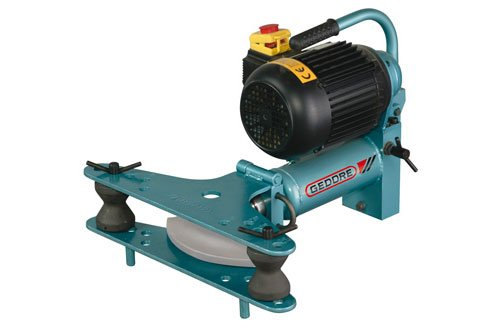 """Gedore Pipe bending machine without bending formers, electro-hydraulic, fold-open 3"""", 380-415 V"""