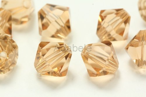 Rose 5301 Crystal Beads - 6