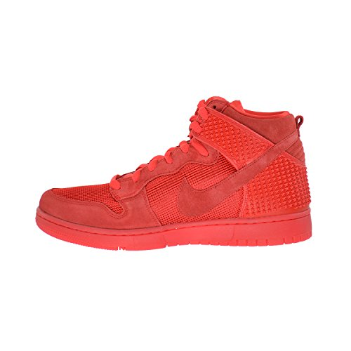 Nike Mens Dunk Cmft Prm Scarpe Casual Light Light Cremisi / Light Crimson / Red October