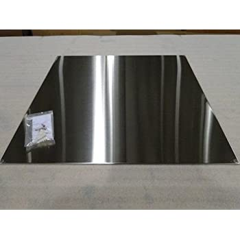 Stainless Steel Splash Wall Protector, 30 inch X 30 inch