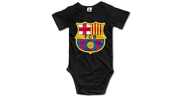 QCNEY del bebé FC Barcelona Body Pelele Mono Ropa de bebé: Amazon.es: Ropa y accesorios