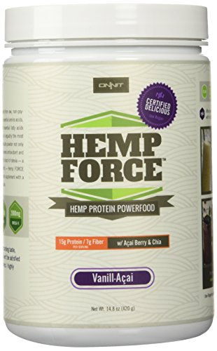 Onnit Labs - Hemp Force Vanille - 420 Gramm