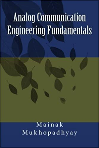 Analog Communication Engineering Fundamentals Mukhopadhyay