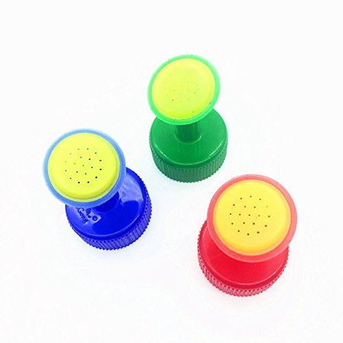 Bonsai Watering Can (Coolrunner Bottle Cap Sprinkler PVC Plastic Watering GB 28mm caliber Little Nozzle Sprinkler Head Watering Vegetables Mist Nozzle (3))