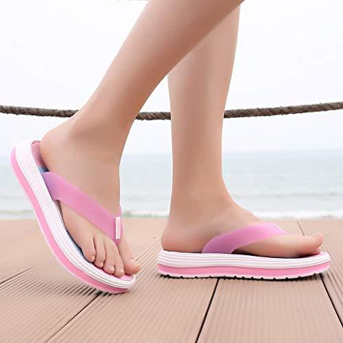 Estate Spiaggia Donna Da Infradito Rosa Sandali Ciabatte Sunnywill Donne qPYwfE