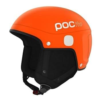 POC POCito Light Helmet - Casco de esquí unisex, color naranja, talla XS-S
