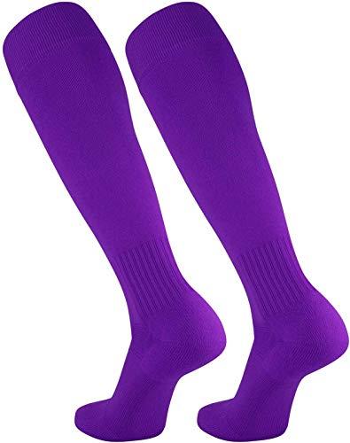 TCK Elite Finale Soccer Socks (Purple, ()