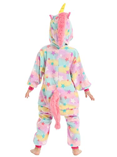 BELIFECOS Pink Star children Unicorn Cosplay Costume Onesie Pajamas For Boy 105 by BELIFECOS (Image #4)