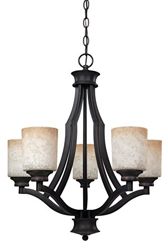 Canarm ICH375A03RA14 Warren 3 Light 14-1 4 Inch Dual Mount Chandelier