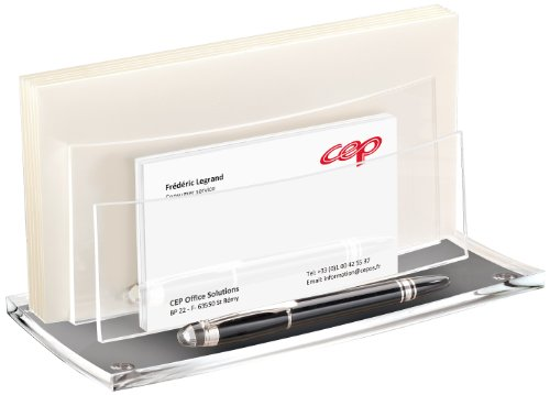 Cep AcryLight Letter and Envelope Desk Sorter, 4.1 x 8.9 ...