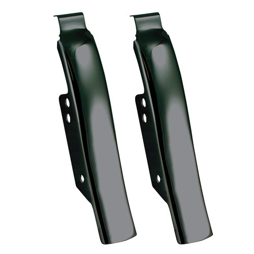 Hill Country Customs Black Fender-Saddlebag Filler Panels for Harley-Davidson Touring 1997-2008 - HC-26313