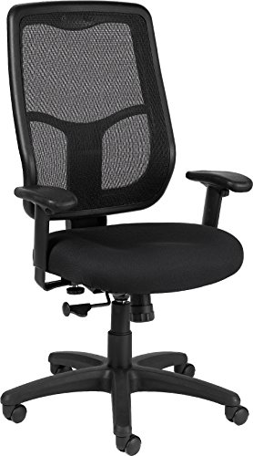 Eurotech Seating Apollo MTHB94 High Synchro Swivel Chair, Black