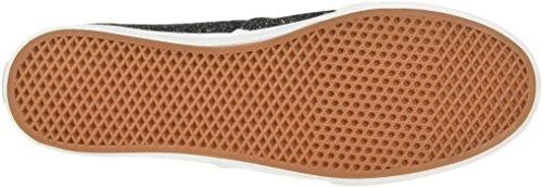 Bestelwagens Unisex Authentieke Skate Schoen ... Zwart / True White