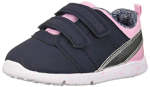 - Carter's Every Step Girls' Relay Sneaker, Navy, 3.5 M US Infant