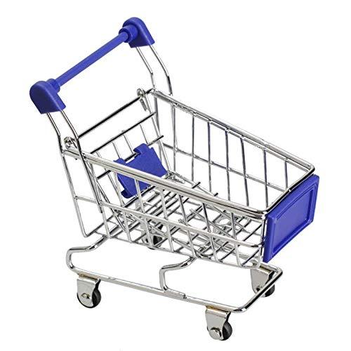 Mini Storage - Body Graet Gift Mini Supermarket Handcart Shopping Steel Utility Cart Mode Storage Toy Children - Lid Jars Padlock Pallet Hammock Ottoman Sofa Trunk Shed Bags ()