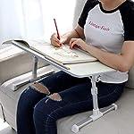 Laptop Stand Computer Desk, Adjustable Laptop Table, Bed Tray, Lap Desks Bed Table for Eating, Bed Desk, Laptop Table…