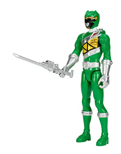 "Power Rangers Dino Super Charge - 12"" Green Ranger Action Figure"