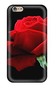 Paul Jason Evans's Shop New Style 8133318K88024567 6 Scratch-proof Protection Case Cover For Iphone/ Hot A Single Red Rose Phone Case