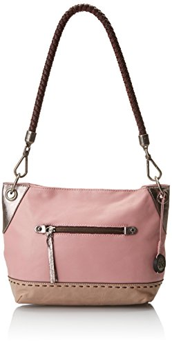 The Sak Indio Leather Demi Shoulder Bag Peony Block, Peony Block, One Size by The Sak