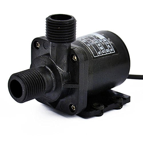 Generic Amphibious Black Water Pump for DC 12V 3.8M Magnetic Electric Centrifugal Hotsell Aquarium solar-panel circulate by Generic