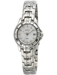 Seiko Womens SXDA31 Diamond Silver-Tone Watch
