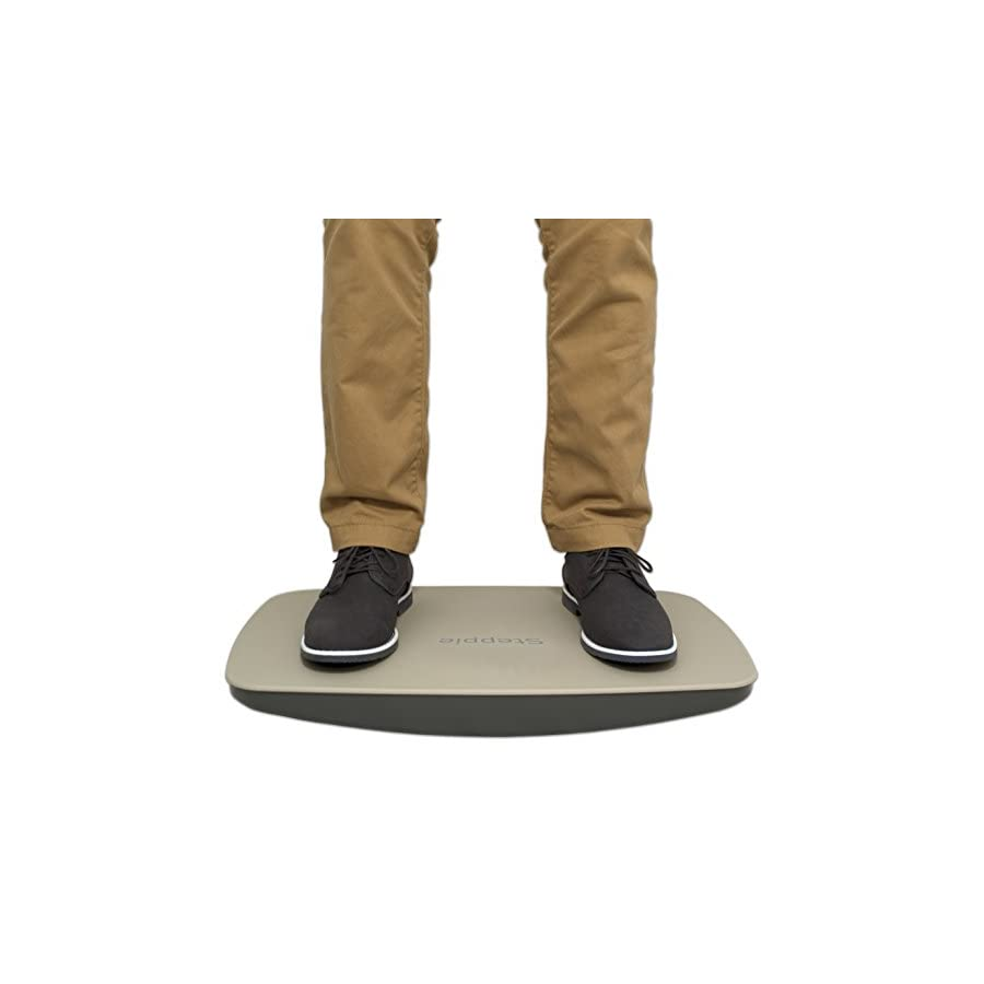 """Victor ST570 Steppie Balance Board, 22 1/2"""" by 14 1/2"""" by 2 1/8"""", 2 Tone Gray"""