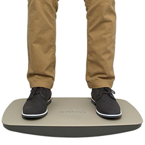 "Victor ST570 Steppie Balance Board, 22 1/2"" by 14 1/2"" by 2 1/8"", 2 Tone Gray"