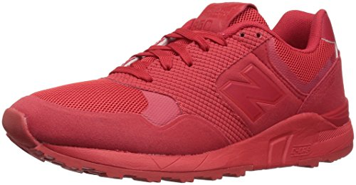 New Balance Men's 850 90S Running Fashion Sneaker, Red, 13 D US (Mens Red Sneakers)
