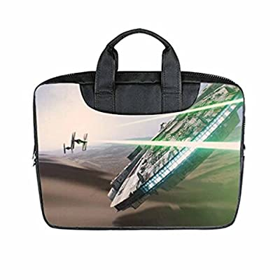 "Custom Star Wars The Force Awakens Laptop Bag Case Cover Bag Water Resistant For Laptop 17"" Twin sides"