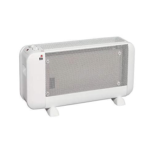 chollos oferta descuentos barato FM Radiador Mica Blanco 29 x 49 5 x 23 cm