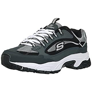 Skechers Men's Stamina Cutback Lace-Up Sneaker,Navy Cutback,11.5 W US