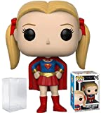 Funko Pop! Television: Friends - Supergirl Pheobe Buffay Vinyl Figure (Bundled with Pop Box Protector Case)