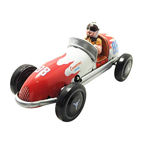 Diecasts & Toy Vehicles - Wind-Up Retro Racing Car Model Toy Collectible Gift - by LINAE - 1 PCs from LINAE