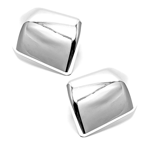 Sizver Chrome Door Mirror Cover For 2015-2017 Ford F150