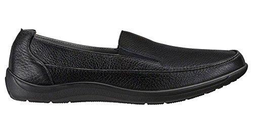 San Antonio Chaussures Hommes Sas, Weekender Slip Sur Chaussures Noir