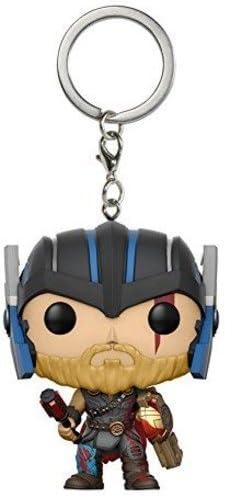 Amazon.com: Funko Pocket POP Marvel Thor Ragnarok - Llavero ...