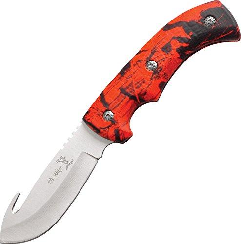 Elk Ridge ER-274RC Fixed Blade Knife 8.75-Inch Overall