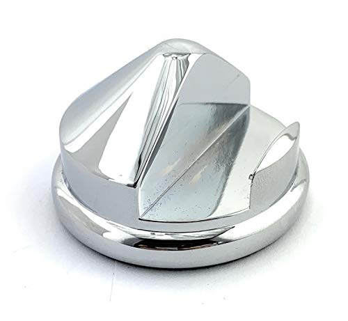 GBS Heavy Duty Cone Razor Stand. Polished Steel and Protective Base. Fits Most Name Brand Razors - Manual, Shavette, Straight razor, 5 and 3