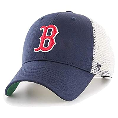 '47 Brand Snapback Cap - Branson Boston Red Sox Navy