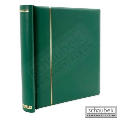 Schaubek Klemmbinder, grün, mit 40 Blankoblättern bb110 DK110/4
