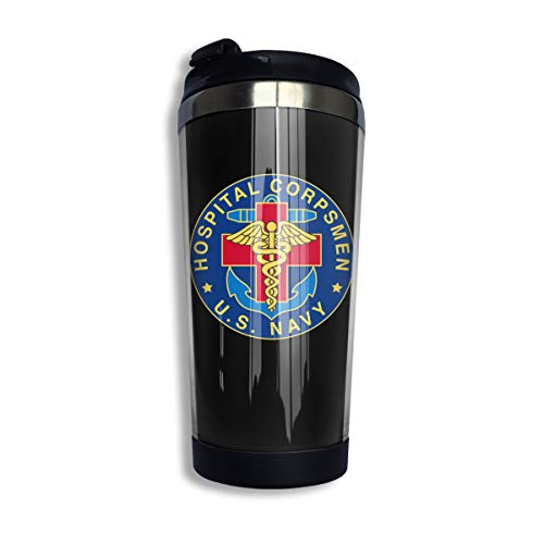 Stainless Steel Coffee Cup US Navy Hospital Corpsman Vacuum Insulated Cup