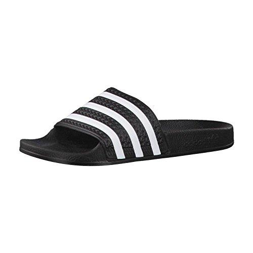 adidas Adilette, Sandales Habillées Mixte Adulte Noir