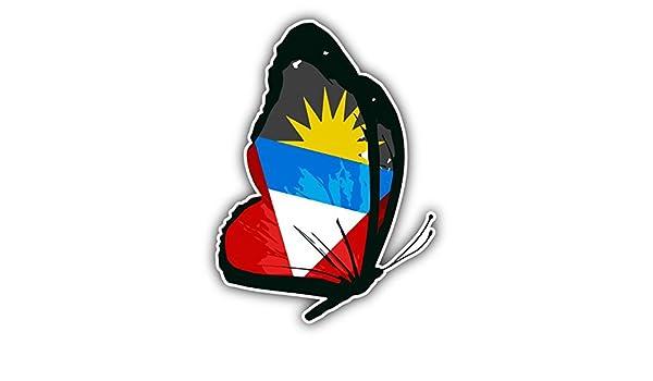 Antigua and Barbuda Flag Bumper Sticker NEW