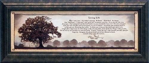 Attirant Amazon.com: Artistic Reflections P241 U201cLiving Lifeu201d Framed Art By Bonnie  Mohr, 19 X 23 Inches: Home U0026 Kitchen