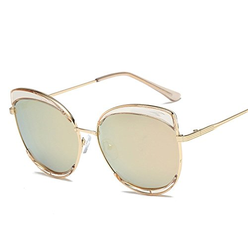 de de de de ocio sol Gafas Rodajas 6 metal de polarizadas Naranja Gafas gafas mujer sol decorativas de gafas polarizadas para sol Shop CE6qX8Twq