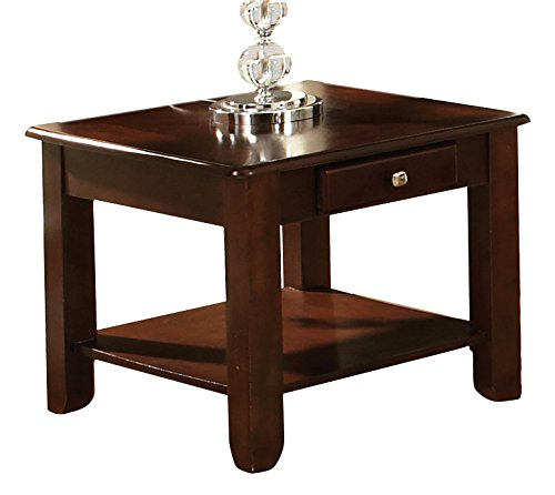 - Steve Silver Company Nelson End Table, Cherry