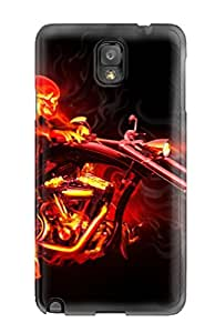 Galaxy Note 3 Case Bumper Tpu Skin Cover For Amazing Motorcycle Rider Accessories